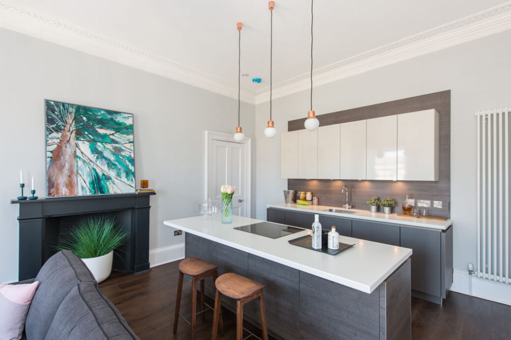 Interior kitchen design Edinburgh