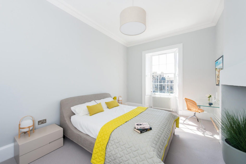 Interior image of domestic project, Scotland Street Edinburgh, designed by Detail Design Solutions, Architectural Technologists in Edinburgh